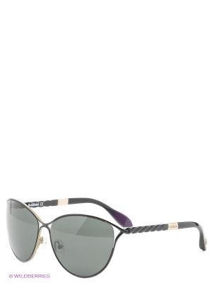 Солнцезащитные очки BLD 1507 204 Baldinini. Цвет: черный, бронзовый