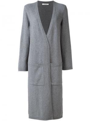Volume Is Key cardi-coat Dorothee Schumacher. Цвет: серый