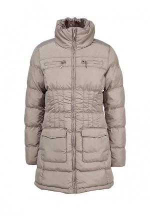 Куртка утепленная F5. Цвет: бежевый