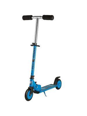 Самокат городской Foxx Zomby Zone алюм сталь PU колеса 125мм ABEC-7. Цвет: голубой