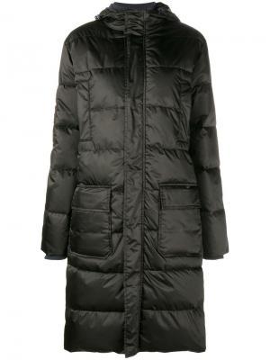 Пуховое пальто Greenwood Ganni. Цвет: чёрный