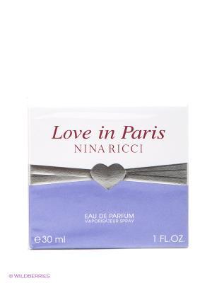 Nina Ricci Love In Paris Ж Товар Парфюмерная вода 30 мл. Цвет: прозрачный