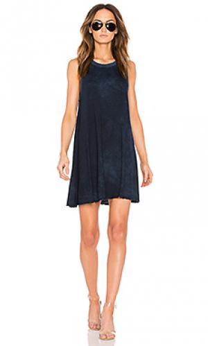 Платье ensley TYLER JACOBS. Цвет: синий