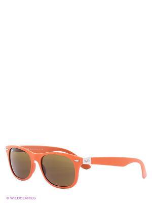 Очки солнцезащитные Ray Ban. Цвет: рыжий
