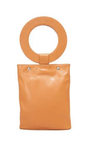 Объемная сумка с короткими круглыми ручками ONE by Modern Weaving