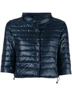 Дутая куртка Elena Duvetica. Цвет: синий