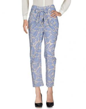 Повседневные брюки MIGUEL PALACIO for HOSS INTROPIA. Цвет: небесно-голубой