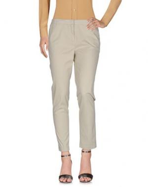 Повседневные брюки KILTIE. Цвет: слоновая кость