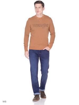 Джемпер Wrangler. Цвет: коричневый