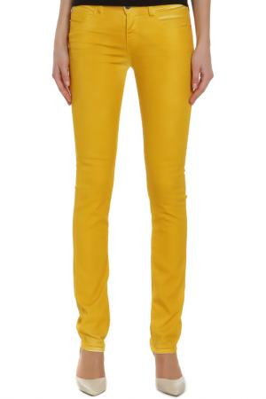 Джинсы CNC Costume National C'N'C. Цвет: желтый