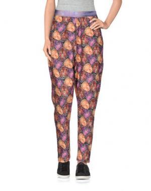 Повседневные брюки ED 2.0. Цвет: сиреневый