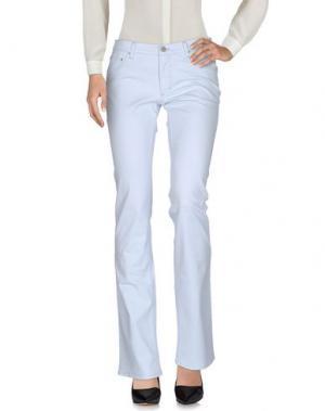 Повседневные брюки MALO. Цвет: небесно-голубой