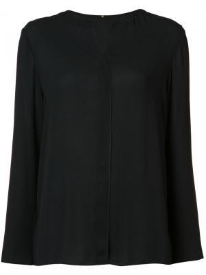 Рубашка без воротника Peter Cohen. Цвет: чёрный