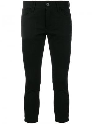 Укороченные брюки скинни Junya Watanabe Comme Des Garçons. Цвет: чёрный
