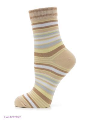 Носки, комплект 5 пар Alla Buone. Цвет: кремовый