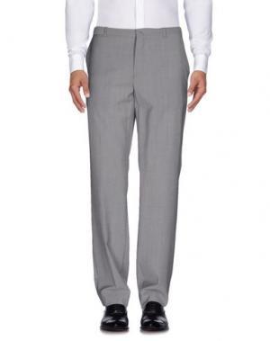 Повседневные брюки COSTUME NATIONAL HOMME. Цвет: серый