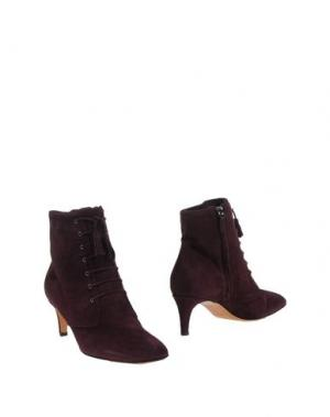Полусапоги и высокие ботинки BRUNO MAGLI. Цвет: красно-коричневый