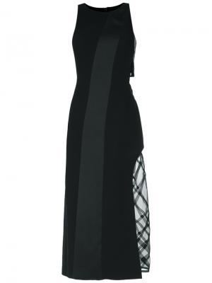 Sequin midi dress Giuliana Romanno. Цвет: чёрный