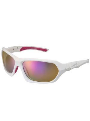 Велоочки Shimano CE-S22X. Цвет: белый, розовый