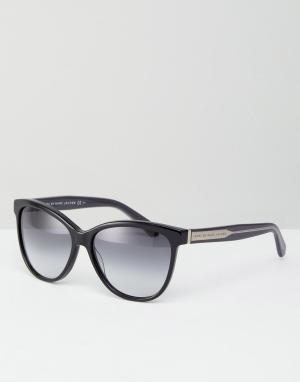 Marc By Jacobs Солнцезащитные очки кошачий глаз с затемненными стеклами. Цвет: черный
