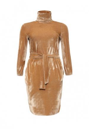 Платье Love & Light XXL. Цвет: коричневый