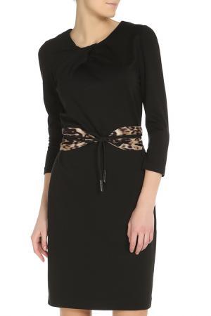 Универсальное элегантное платье Elie Tahari. Цвет: черный