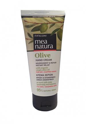 Крем для рук Mea Natura. Цвет: зеленый