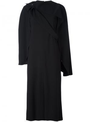 Платье-кейп Chalayan. Цвет: чёрный