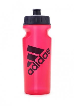 Бутылка adidas Performance. Цвет: фуксия