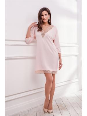 Платье Laete. Цвет: персиковый
