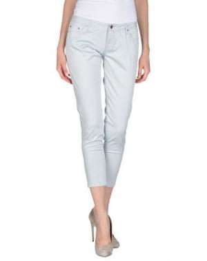 Повседневные брюки AMY GEE. Цвет: светло-серый