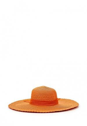 Шляпа Sophie Ramage. Цвет: оранжевый