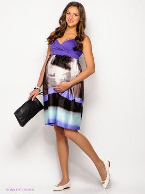 Платье Русмар. Цвет: фиолетовый