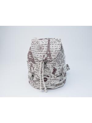 Рюкзак TIMBAG. Цвет: темно-бежевый