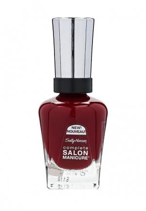 Лак Sally Hansen. Цвет: бордовый