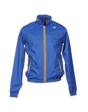 Куртка K-WAY. Цвет: синий