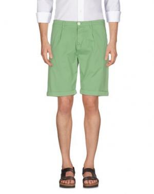 Бермуды FRADI. Цвет: светло-зеленый