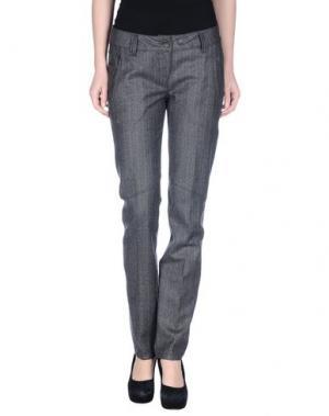 Повседневные брюки PARASUCO CULT. Цвет: серый