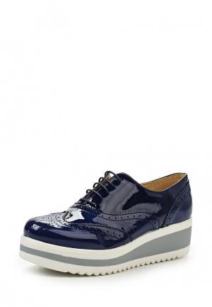 Ботинки Oxigeno. Цвет: синий