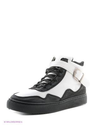 Ботинки VIVIAN ROYAL. Цвет: черный, белый