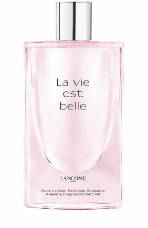 Масло для ванны La vie est belle Lancome. Цвет: бесцветный