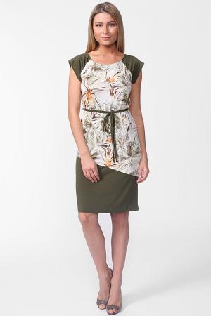 Платье Carla B. Цвет: зеленый