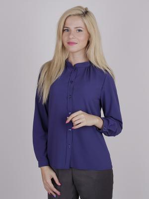 Блуза ELNY. Цвет: синий