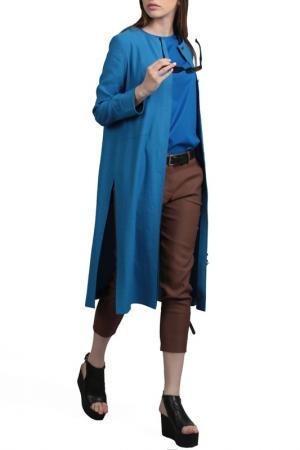 Кардиган Энсо. Цвет: голубой