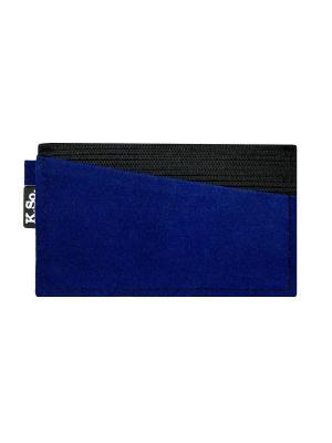 Мини кошелек кардхолдер K.So.A-Six K.So.. Цвет: синий, черный