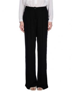 Повседневные брюки JEY COLE MAN. Цвет: черный