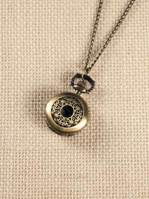 Кулон-часы Кружево Mitya Veselkov. Цвет: бронзовый