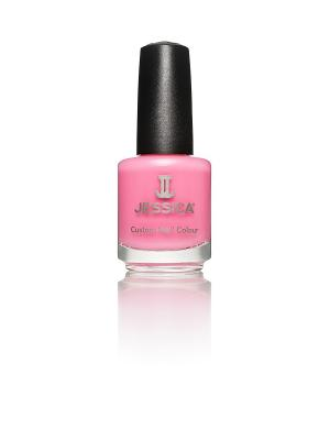 Лак для ногтей  # 790 Pink Shockwaves, 14,8 мл JESSICA. Цвет: розовый