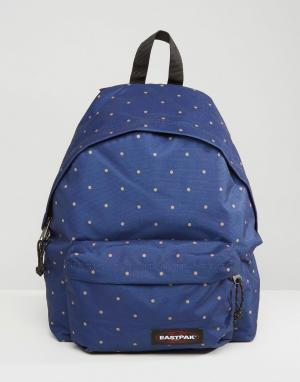 Eastpak Padded PakR Backpack Dot Navy. Цвет: темно-синий