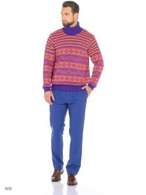 Свитер Veronika Style. Цвет: фиолетовый, оранжевый